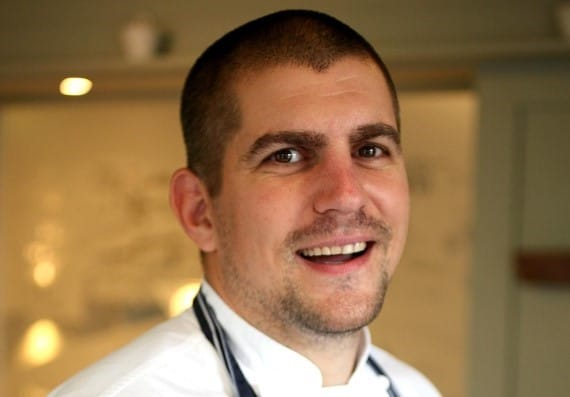 New Head Chef at The Crown woodbridge Daniel Perjesi