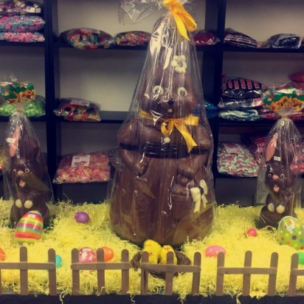 Granvilles sweet shop bunny chocolate