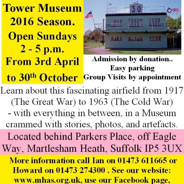 Control Tower Museum OPEN Poster 2016
