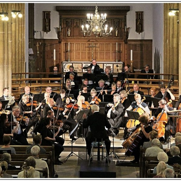 Orchestra in Play by the ' Kingfisher Sinfonietta ' at St Marys Church - for Tim Cornford- 07.06.2016 - 112