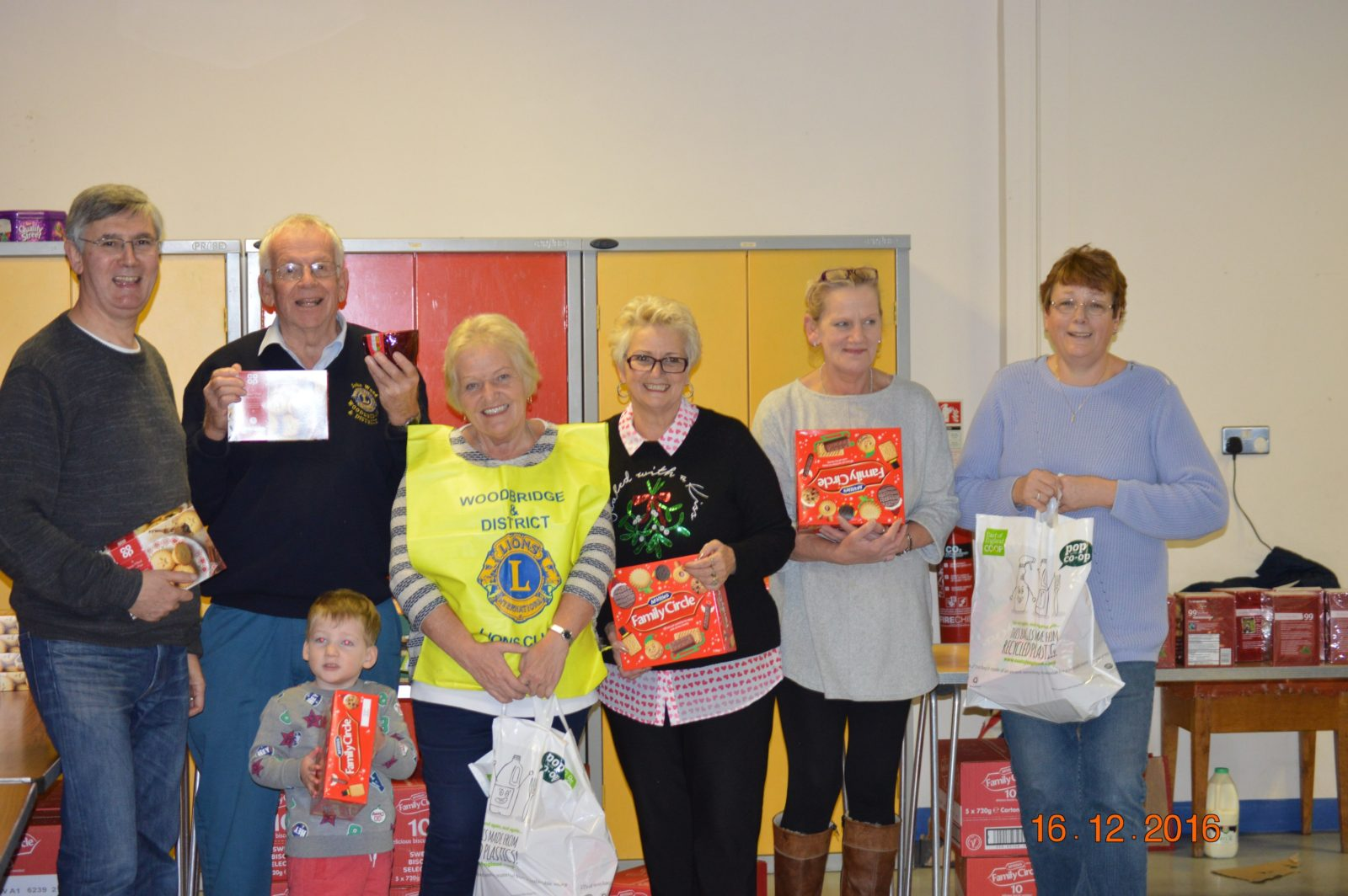 Woodbridge Rotary - The Annual Christmas Parcels