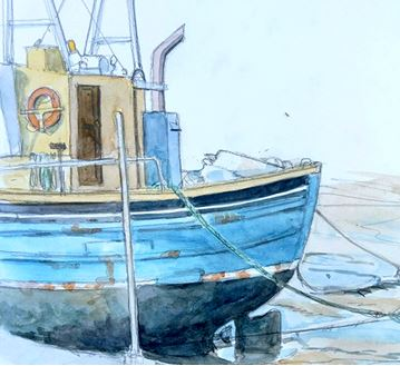 Art Safari Maritime sketching