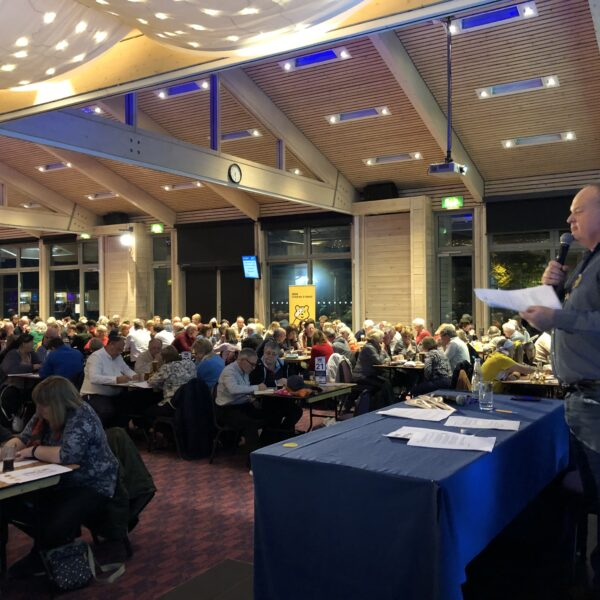 Mark Murphy Hosting The Hearing Care Centre's Big Suffolk Quiz in 2019